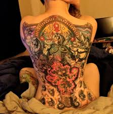 zelda tattoo covers this woman u0027s entire back kotaku australia