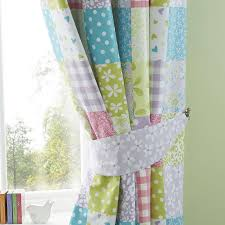 blackout curtains childrens bedroom kids ditsy patchwork blackout eyelet gallery also curtains childrens