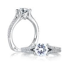 a jaffe delicate split shank engagement ring art deco mes333