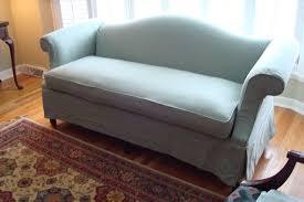 Custom Sofa Slipcovers by Traditional Camel Back Sofa Covers One Piece Rectangular Shape