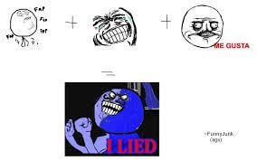 Meme I Lied - i lied meme explained