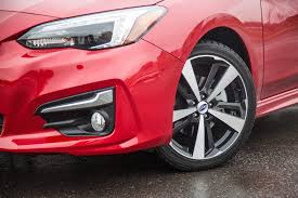 2016 subaru impreza wheels review 2017 subaru impreza sport tech canadian auto review