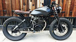 honda 150 motocross bike visual stories shifting to a smaller honda tmx155 street tracker