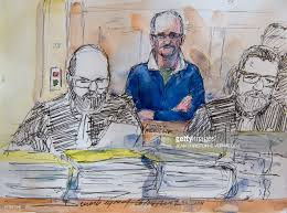 a courtroom sketch made on april 25 2017 shows the serial killer