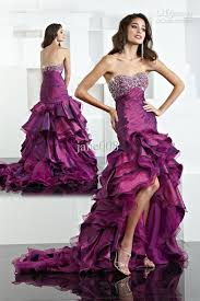 wedding dresses black and pink