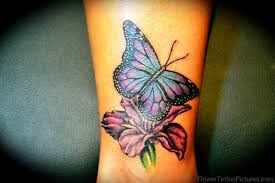 70 iris flower tattoos
