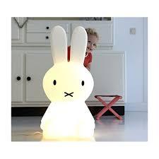 lampe miffy 80 cm lampe veilleuse miffy xl lapin mr maria