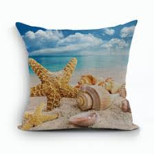 Shell Home Decor Sea Shell Pillows Online Sea Shell Pillows For Sale