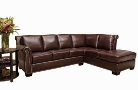 Vintage Sectional Sofa Furniture Vintage Brown Leather Sectional Sofa With Beautiful