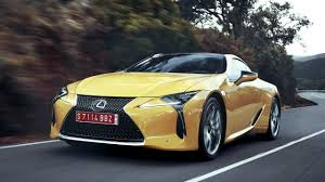 lexus yellow 2018 lexus lc 500 u0026 lc 500h first look kelley blue book
