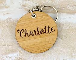 personalized wooden keychains keychains lanyards etsy au