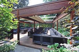 Pergola Designs With Roof by Other Design Beautiful Outdoor Kitchen Decoration Using Solid