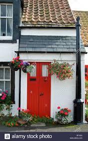 Red Door Paint by Red Door Crail Fife Nook Scotland Scottish Scot Uk United Kingdom