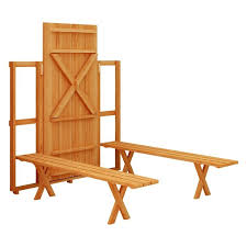 Folding Picnic Table To Bench Fold Up Picnic Table