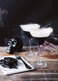 halloween cocktail cinemagraphs