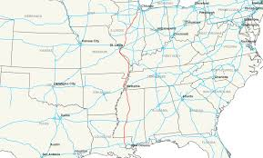 Tennessee City Map by Interstate 55 Wikipedia