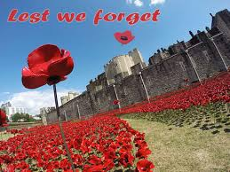 medieval lest forget wwii london england wwi poppy poppies tower