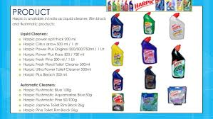 Mr Muscle 5 In 1 Bathroom Cleaner Harpic Marketing Mix