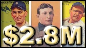 the 10 most expensive baseball cards sold