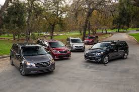 Car Interior Noise Comparison The Big Test 2015 Minivans Chrysler Honda Kia Nissan And Toyota