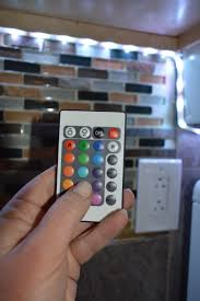under cabinet led strip lights itty bitty living space finding big solutions to living in small