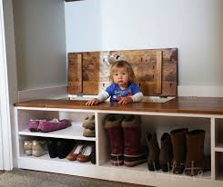 Storage Bench With Cubbies Ana White Wall Cubby Crate Shelves Diy Projects