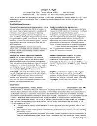 Technical Writer Resume Summary Templates Business Intelligence Resume Summary Contegri Com