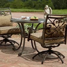 Agio Patio Furniture by Agio International Aas 14401 40615 Fair Oaks 3 Piece Bistro
