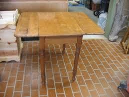 Wooden Drop Leaf Table Wood Works Of Cedar Springs Tables