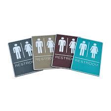 Male Female Bathroom Signs by Restroom Signs Order Online