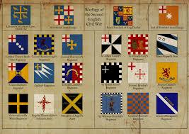 Civil War Battle Flag Flags Of The 2nd English Civil War By Edthomasten On Deviantart