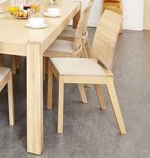 light oak dining room chairs light oak 90 155cm ext table and 4