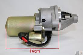 starter motor for honda gx340 gx390 11hp 13hp and chinese copy