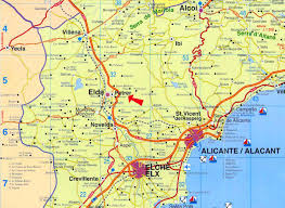 Alicante Spain Map by Elda And Petrer Bargain Basement Of Spain