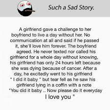 Sad Girlfriend Meme - dopl3r com memes such a sad story a girlfriend gave a challenge