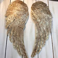 winsome metal angel wings wall decoration 16 metal angel wings