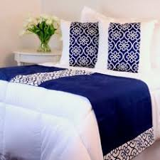 bed scarves and matching pillows handmade luxury bed linens soft sea foam blue bed runner with