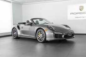 black porsche 911 turbo 2016 porsche 911 turbo s for sale in colorado springs co p2785a