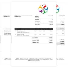 word rent invoice template professional consulting pr saneme