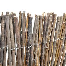Willow Fencing Lowes by Patio 9 10 X 4 11 Garden Outdoor Willow Branch Fence Border