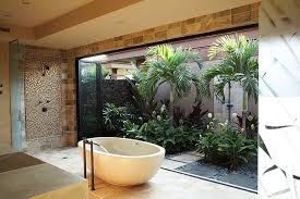 Tropical Bathroom Accessories by Tropical Bathroom Accessories Gray Stained Wall Acrylic Free