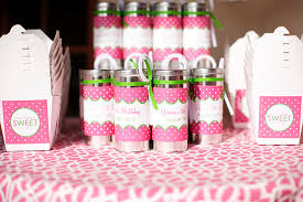 cheap personalized party favors preppy pink and green the party dress pink and green