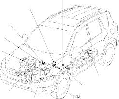 engine control system general toyota rav4 car features