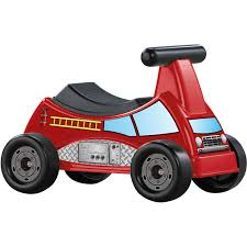 american plastic toys fire truck ride on walmart com