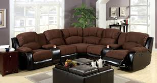 astonishing sectional sofas with recliners and cup holders 17 for