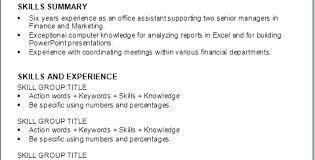 resume skills exle bartending resume skills