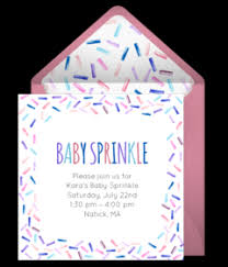 free baby sprinkle online invitations punchbowl