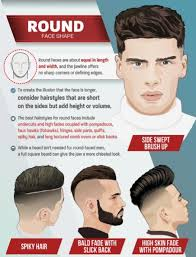 haircut that add height top 6 best men s haircuts by face shape infographic humble rich