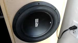 sony home theater subwoofer re audio ht subwoofer demo car sub in home theater youtube