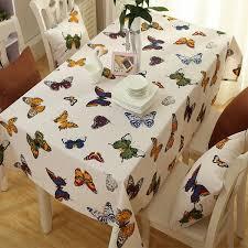 nappe de cuisine rectangulaire nappe rectangulaire de décoration de table de cuisine à motifs de